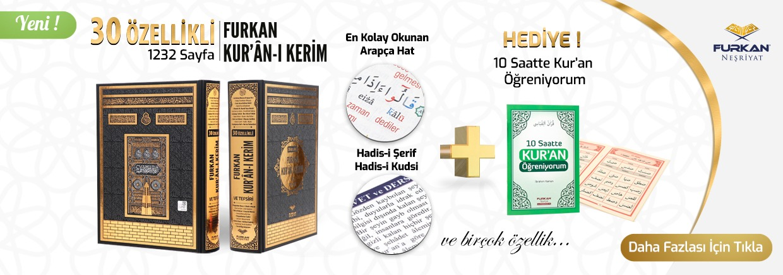 30 Özellikli Furkan Kuran Külliyatı